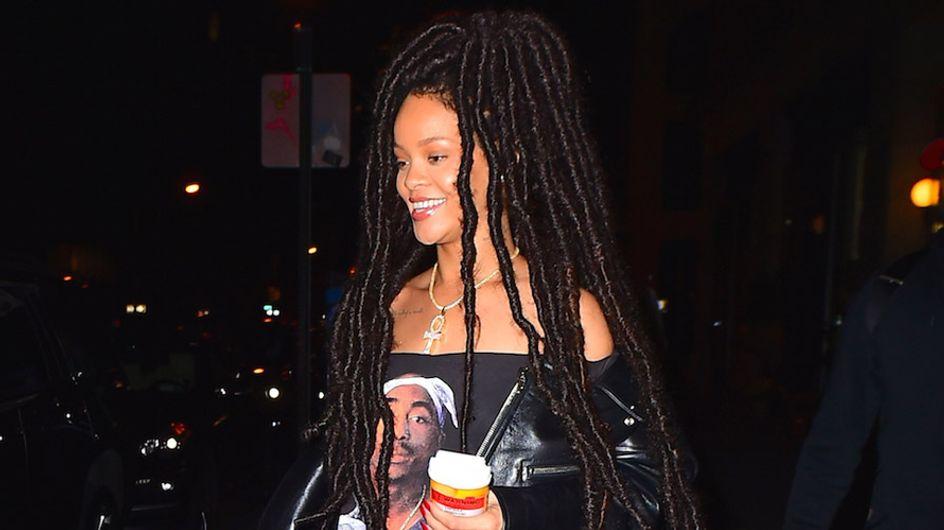 Rihanna a lo Bob Marley, peor look de la semana