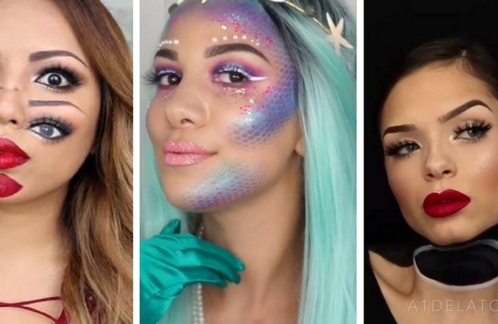 """10 idées make-up carrément """"waouh !"""" pour Halloween (vidéos)"""