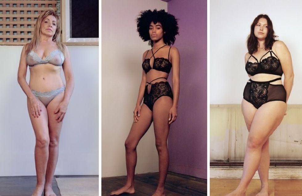 """Une campagne met à l'honneur des femmes """"comme nous"""" en sous-vêtements et c'est juste CANON (Photos)"""