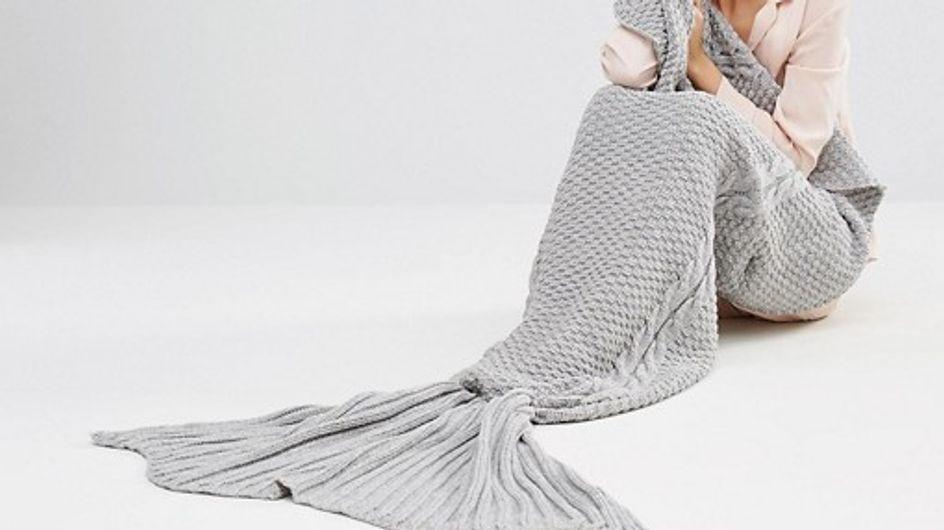 L'accessoire de l'hiver : la couverture sirène repérée chez ASOS