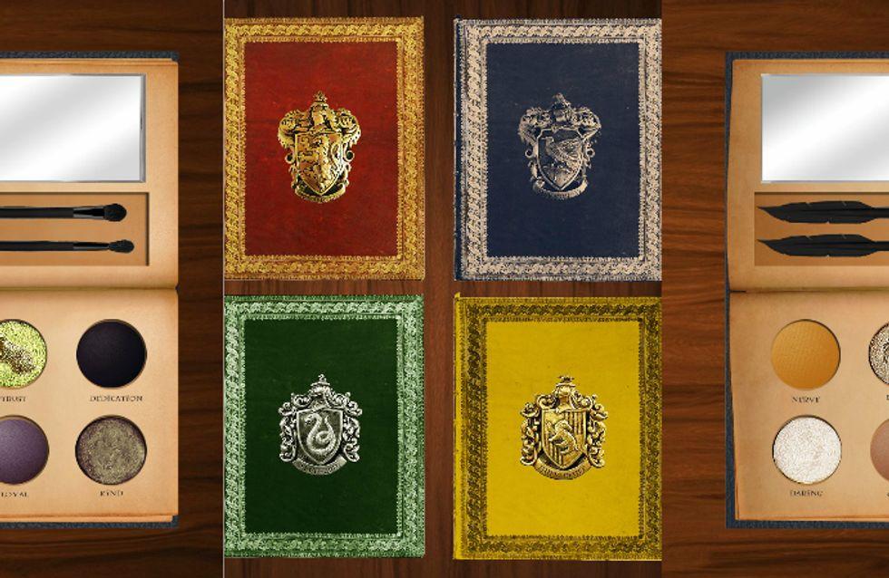 A internet está obcecada com as paletas de sombra do Harry Potter