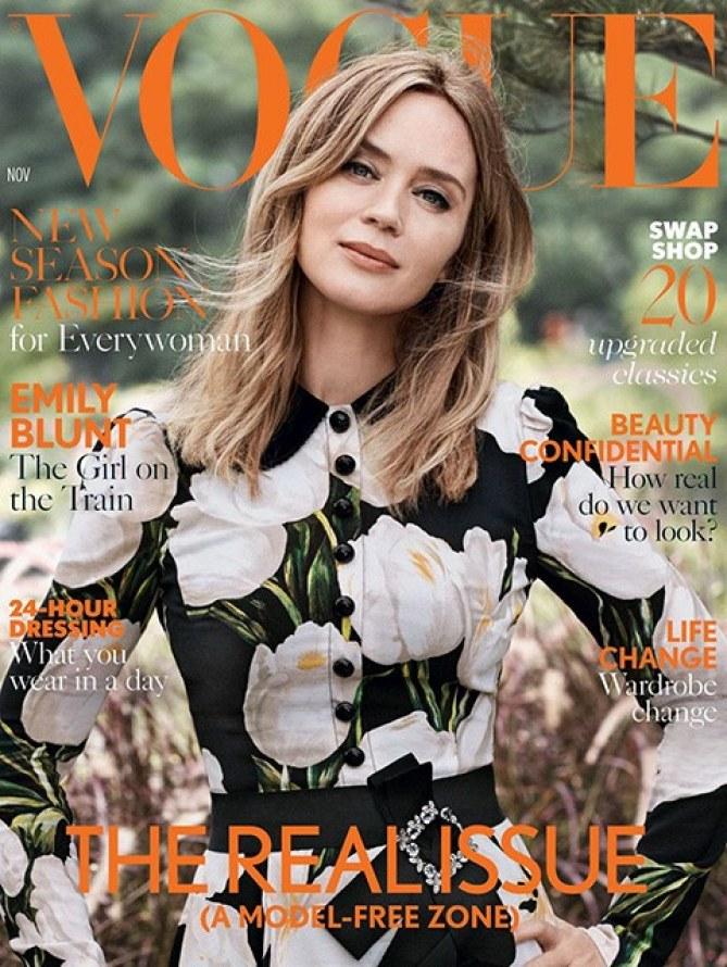 L'édition Real Issue de Vogue UK fait déjà polémique