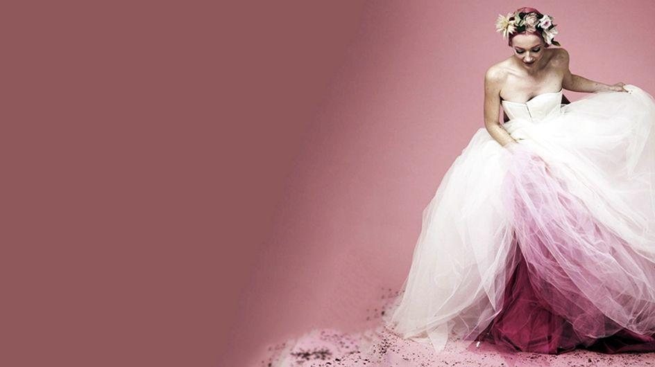 25 espectaculares vestidos de novia ¡llenos de color!