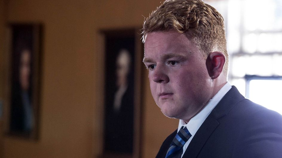 Coronation Street 19/10 - Craig Gives Evidence In Court