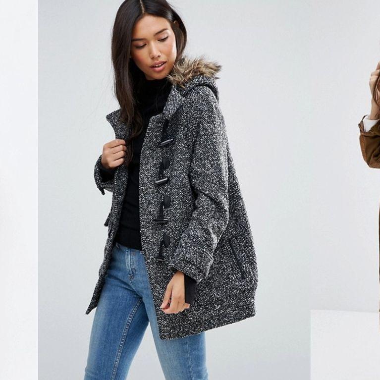 Manteau gris femme asos