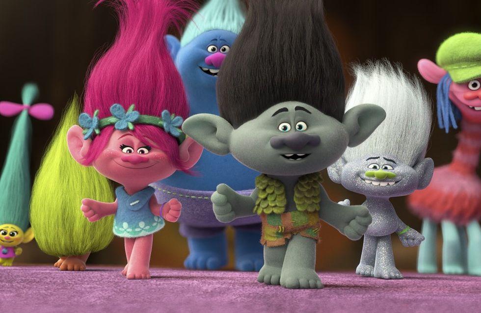 """""""Les Trolls"""", le film d'animation immanquable de 2016 !"""