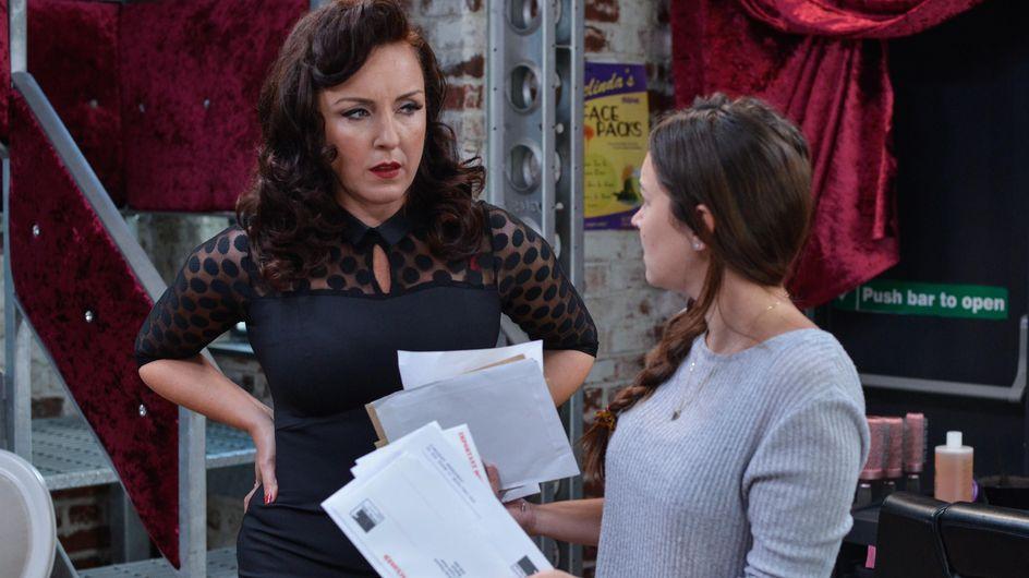 Eastenders 18/10 - Stacey Is Stunned To Learn Elysium Is In Serious Debt