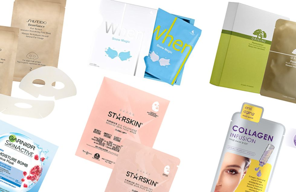 8 of The Best Sheet Masks To Save You From A Winter Skin Meltdown