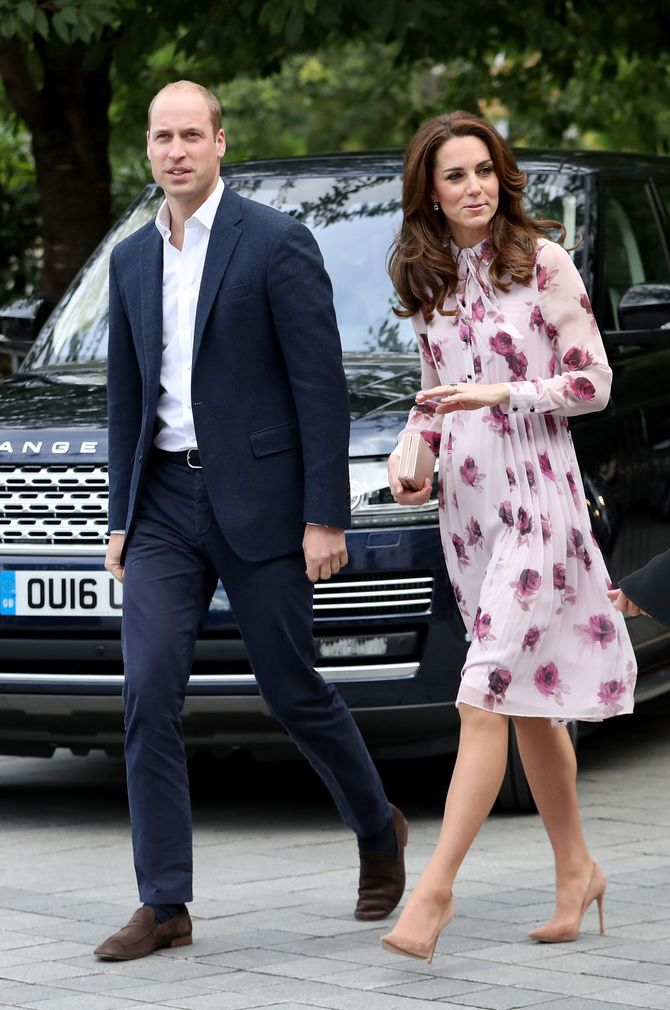 Kate Middleton le 10 octobre à Londres