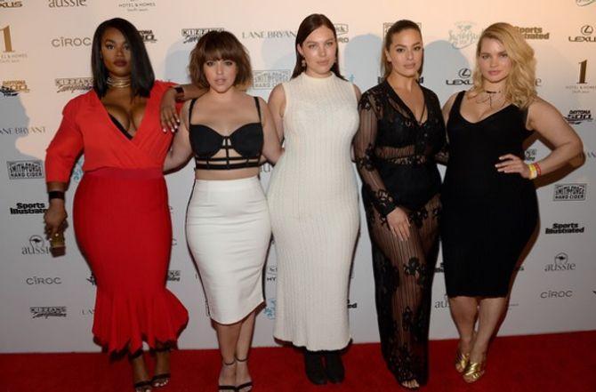 Ashley Graham, Tara Lynn, Denise Bidot, Georgia Pratt, Precious Lee