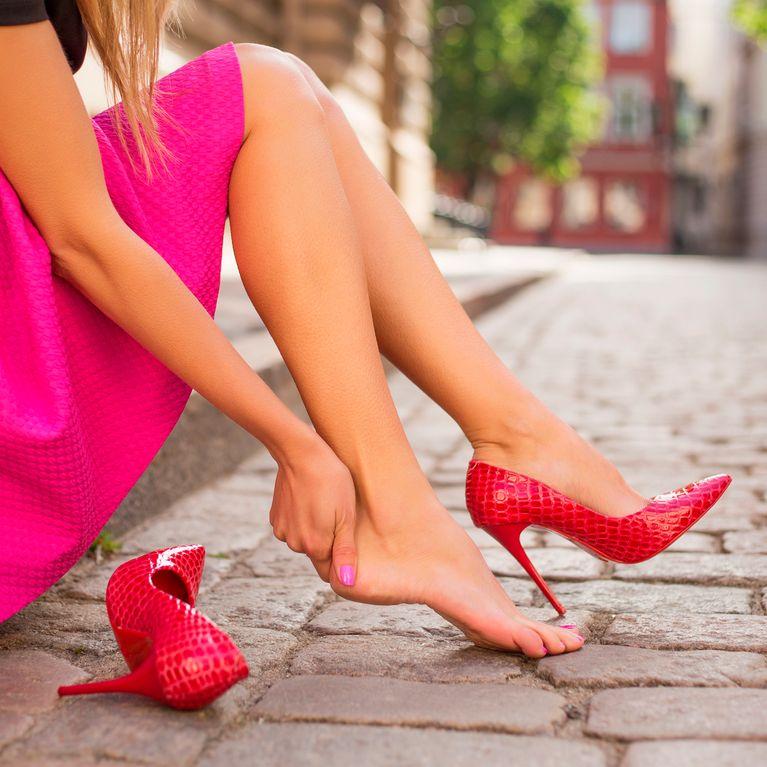 fil chaussure qui fait mal