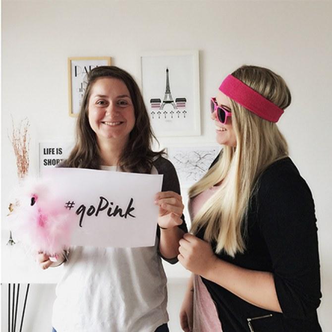 #goPink mit gofeminin