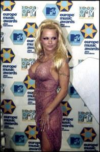 Pamela Anderson antes