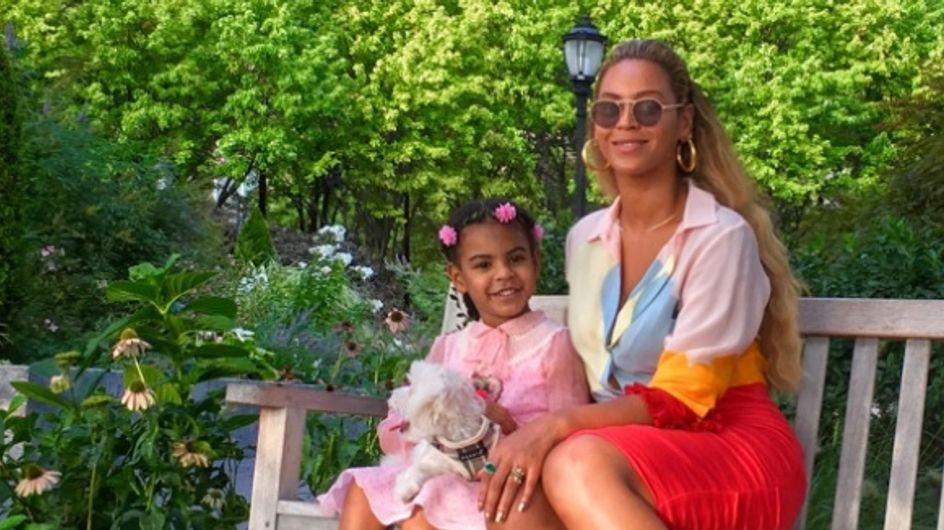 Beyoncé et Blue Ivy voient la vie en Gucci (Photos)