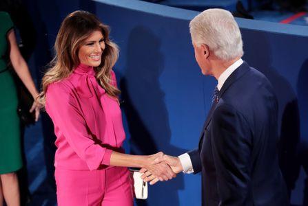 Melania Trump et Bill Clinton