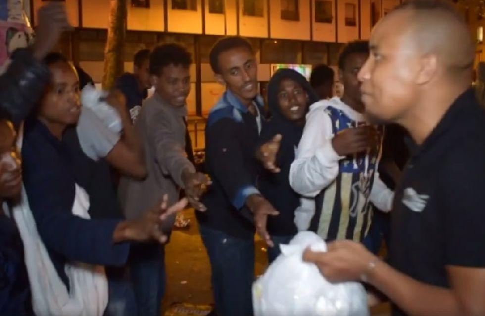 Le très bel élan de générosité de ces jeunes de Sarcelles pour venir en aide aux migrants