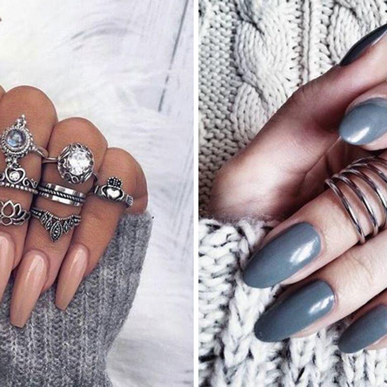 Schön Oder Schlimm Künstliche Fingernägel Feiern Ihr Comeback