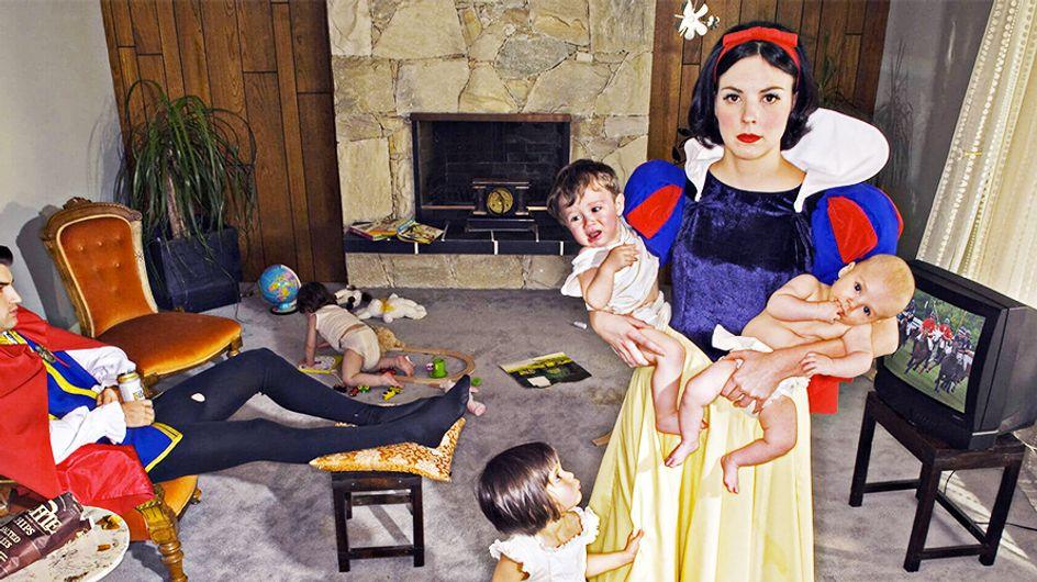 Un artista nos descubre el auténtico final de las princesas de los cuentos