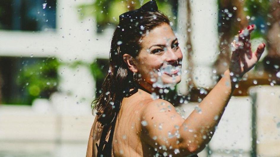 La mannequin Ashley Graham dévoile un selfie topless pour son anniversaire (Photos)