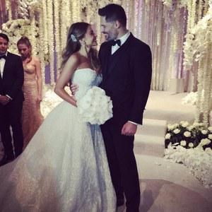 Teuerste Hochzeitskleider: Sofia Vergara - ca. 100.000 €