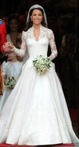 Teuerste Hochzeitskleider: Kate Middleton - ca. 300.000 €