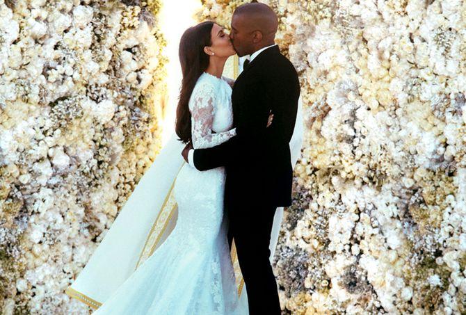 Teuerste Hochzeitskleider: Kim Kardashian - ca. 340.000 €