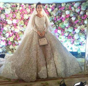 Teuerste Hochzeitskleider: Khadija Uzakhova - 25.000 €
