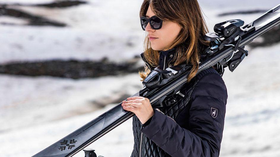 Glamour en la nieve: ahora puedes esquiar sobre cristales de Swarovski