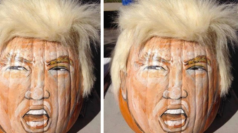 Trumpkins Are A Halloween Thing This Year & They're Funny AF