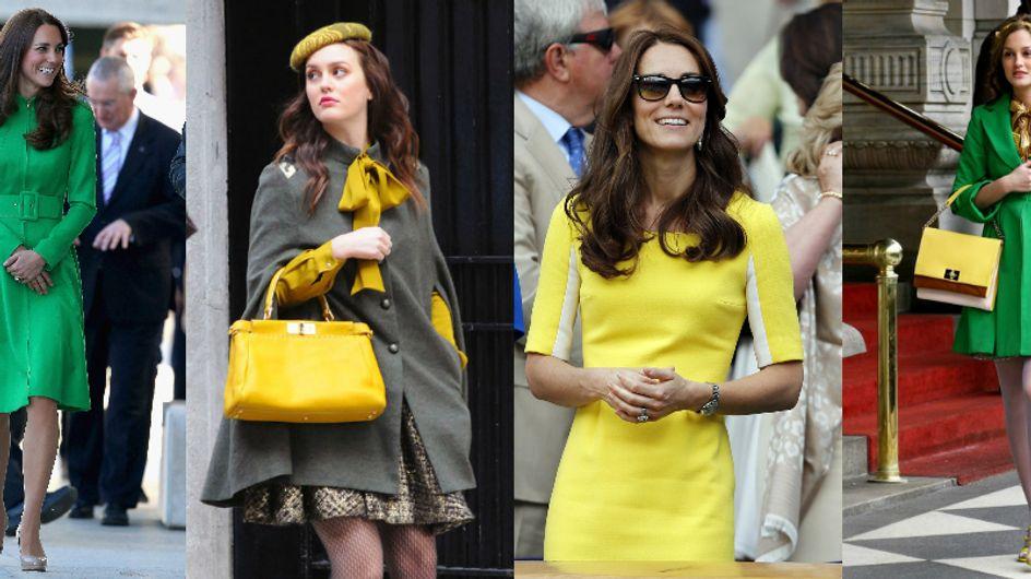 Coincidência fashion: Kate Middleton e Blair Waldorf