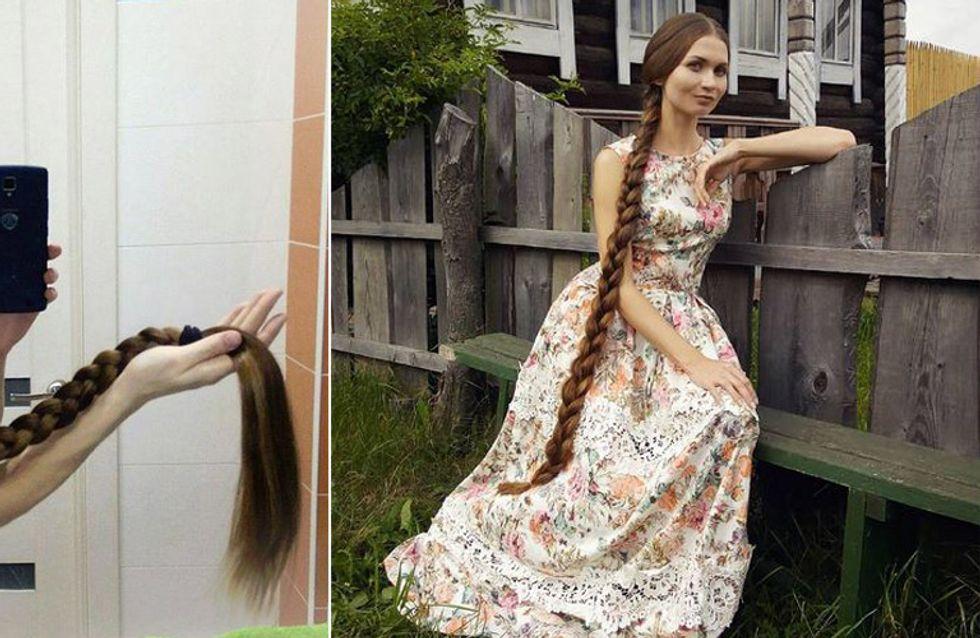 Rapunzel aus dem echten Leben: Diese Russin lässt seit 13 Jahren ihre Haare wachsen