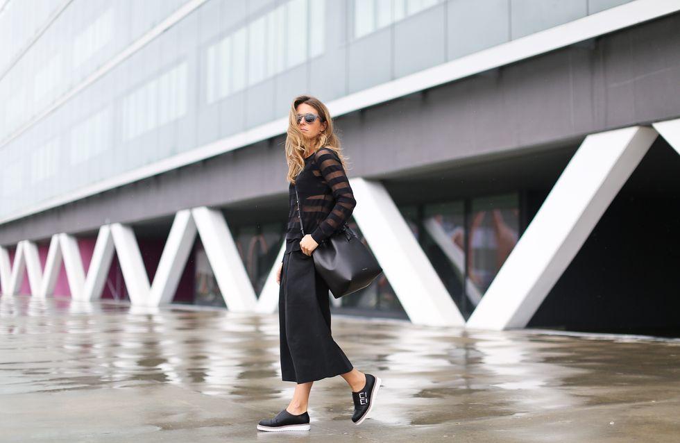 25 mujeres que saben llevar pantalones culotte