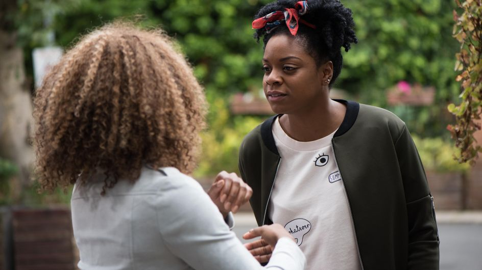 Hollyoaks 26/10 - Lisa And Sonia's Conversation Ends In A Fight