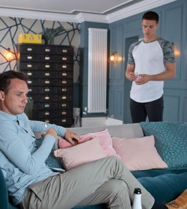 Hollyoaks 27/10 - John Paul Suggests James Should Get Counselling