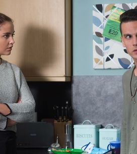 Eastenders 24/10 - Steven Grows Paranoid That Jane Is On To Him