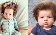 Haarige Angelegenheit: Diese Babys und ihre Mähnen erobern aktuell das Netz