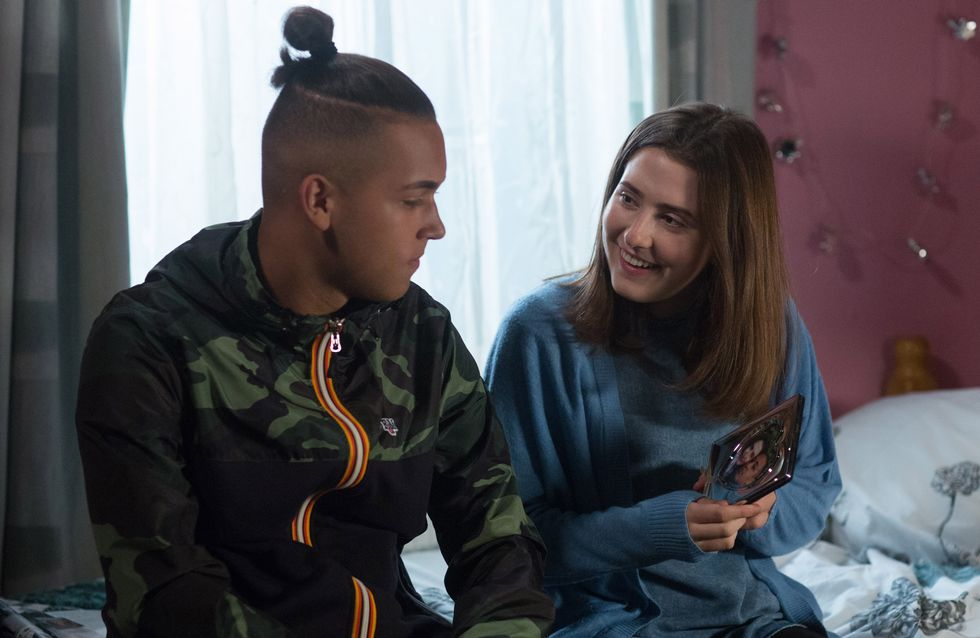 Eastenders 25/10 - Shakil Gives Bex A Touching Gift