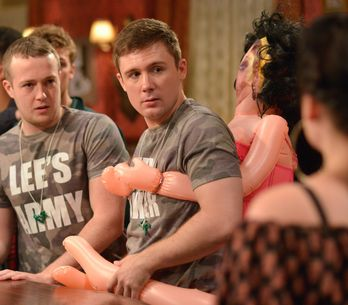 Eastenders 28/10 - Lee's Stag Do Commences
