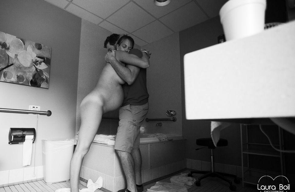 En photos, l'émouvante naissance d'Emilia lors d'un accouchement naturel