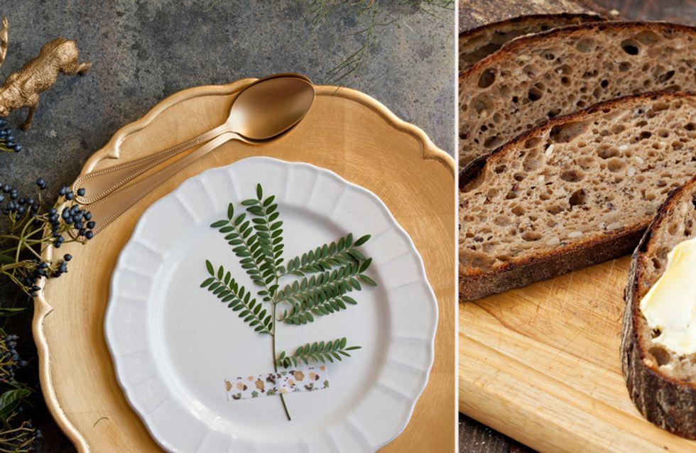 Tischlein, deck dich: Die schönsten Deko-Ideen für eure Brotzeit!