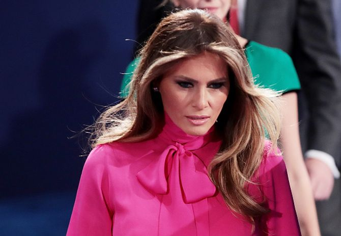 Melania Trump défend son mari