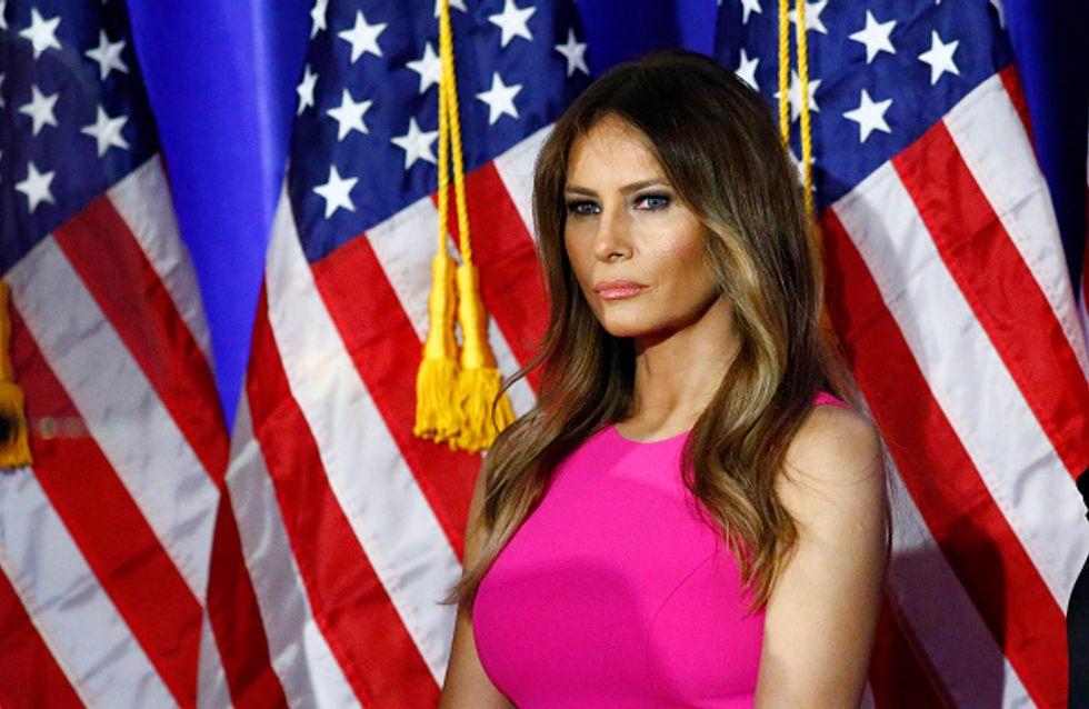 Melania Trump défend bec et ongles son mari (Vidéo)