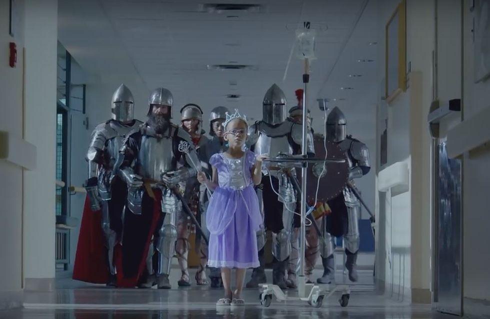 Ce clip percutant est un hommage à l'esprit guerrier des enfants malades (Vidéo)