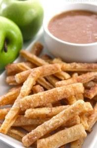 Apfel Cookie Fries