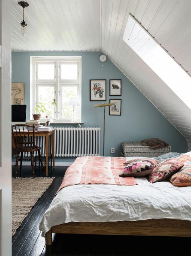 Dachschrägen Gestalten: So Richtet Ihr Euer Schlafzimmer