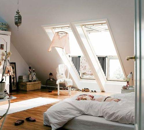 Dachgeschoss Schlafzimmer Einrichten | Dachschragen Gestalten So Richtet Ihr Euer Schlafzimmer Perfekt Ein