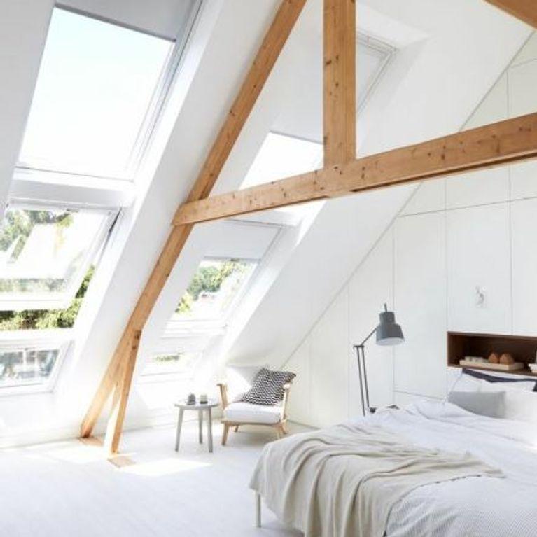 Dachschragen Gestalten So Richtet Ihr Euer Schlafzimmer Perfekt Ein