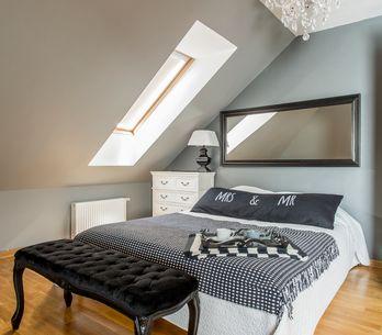 Dachschrägen gestalten: Mit diesen 6 Tipps richtet ihr euer Schlafzimmer perfekt