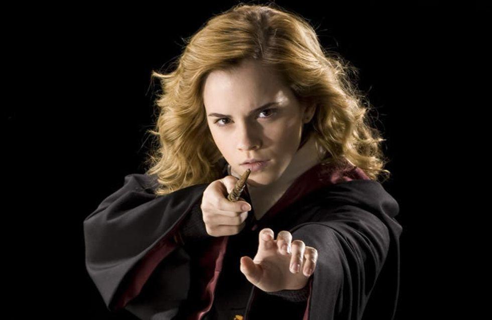 Quoi de mieux pour se maquiller que ces pinceaux façon baguettes magiques Harry Potter ?