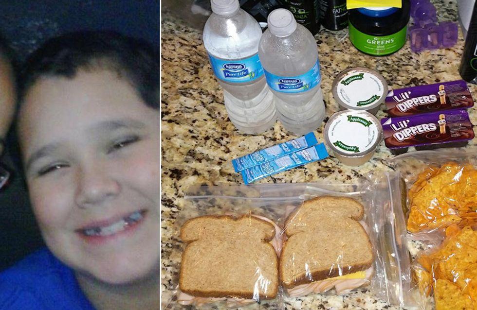 Ihr Sohn bittet sie um ein zweites Lunchpaket - der Grund dafür ist unglaublich rührend
